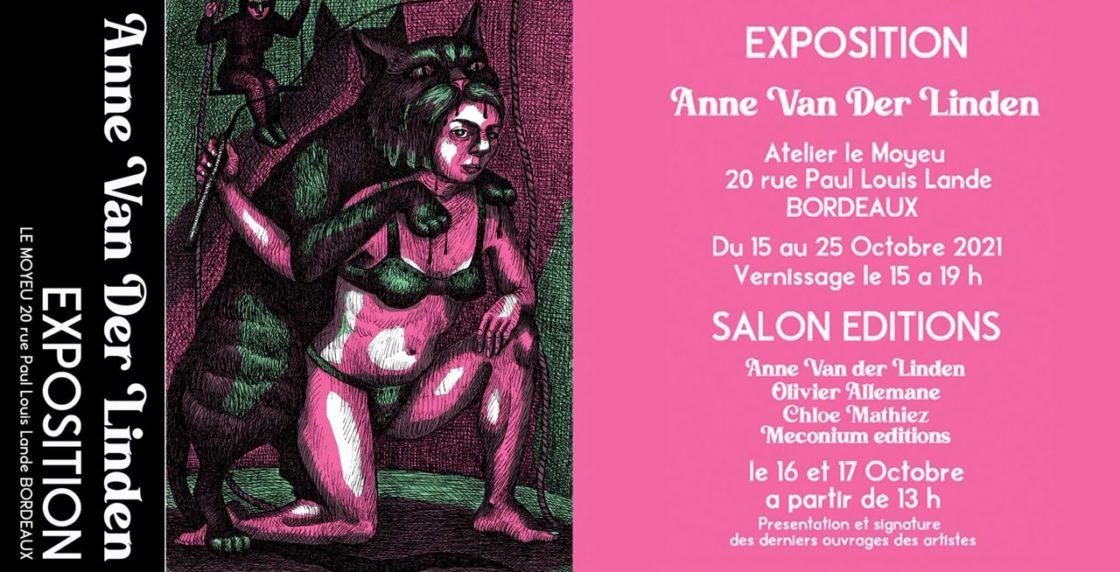 Expo Anne van der Linden à Bordeaux